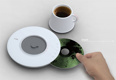 Coffee Plus Music With Saucer CD Player (4) 2