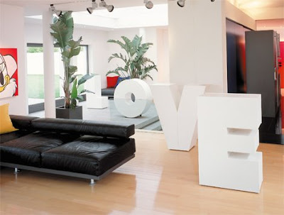 Over-Sized Typographic Furniture (4) 4