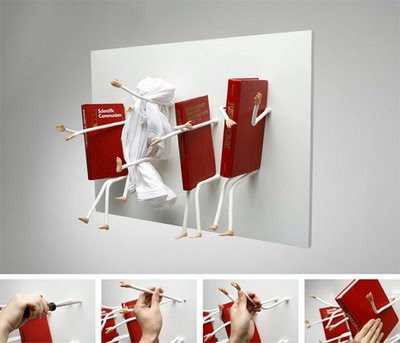 Innovative and Cool Bookcase Designs (12) 5