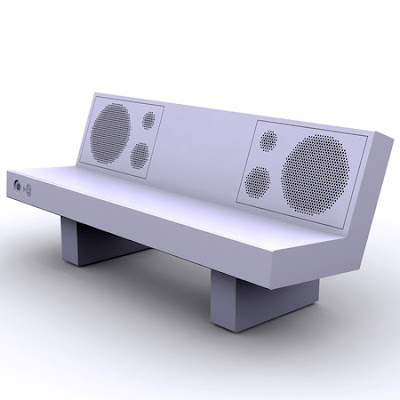 Boombench - Bench That Plays Music from Mobile Phones via Bluetooth (4) 2