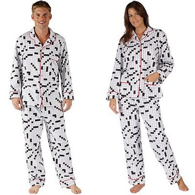 Crossword Pajamas