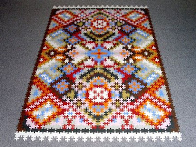 Puzzle Persian Rug (2) 1