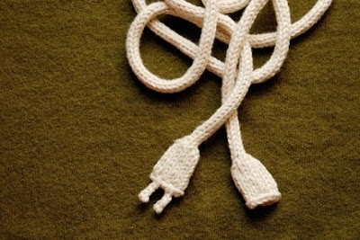 Knitted Power Cord