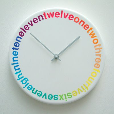 Colors Clock