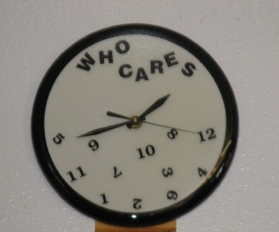 Clock With Attitude