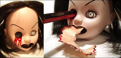 Doll Pencil Sharpener