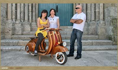 Wooden Vespa (5) 2