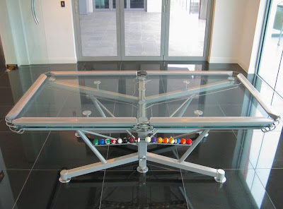 Pool Table Made Of Glass (6) 4