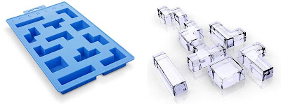 Iceblox Ice Cube Puzzle Tray