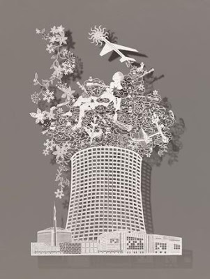 Paper Cutting, Folding, Sculptures, Illustrations And Origami (18) 11