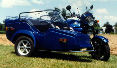 1986 BMW K100 with EML Sidecar
