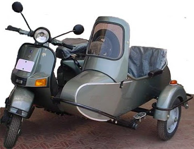Vespa With Side Car (6) 4