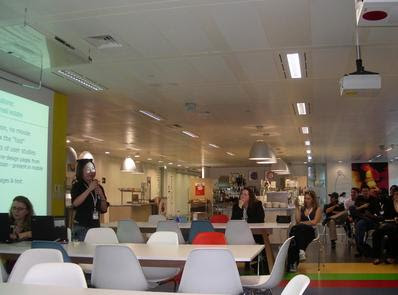 Google London Canteen