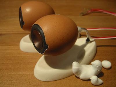 Eggshell Loudspeaker