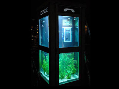Telephone Booth Aquarium (3) 1