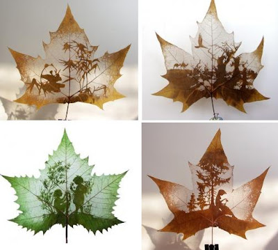 Beautiful Leaf Art (21) 12