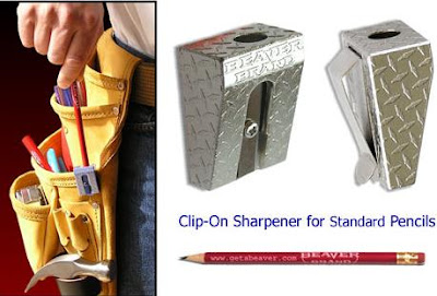 Clip-On Pencil Sharpener