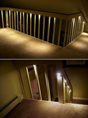 20 Creative and Modern Staircase Lighting Designs (20) 17