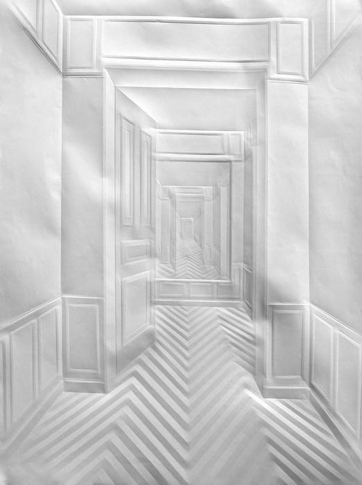 Lukisan kertas 3D