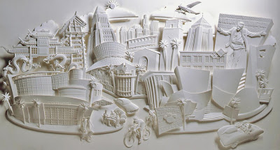 Paper Sculptures by Jeff Nishinaka (11) 3