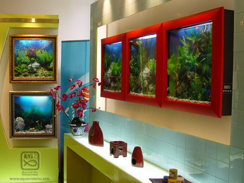 10 unusual aquariums and creative fish tanks designs part 4 for Fish tank screen