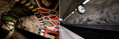 Artistic and Creative Swedish Subway System (21) 19