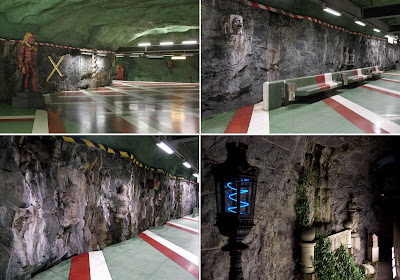 Artistic and Creative Swedish Subway System (21) 16