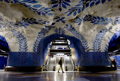 Artistic and Creative Swedish Subway System (21) 9