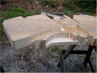 Creative One Block of Wood Sculptures (21) 17