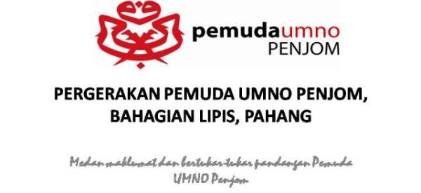 Pergerakan Pemuda UMNO Penjom, Bahagian Lipis, Pahang.