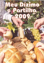 MEU DIZÍMO E PARTILHA 2009