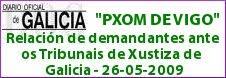 RECURSOS CONTENCIOSO ADMINISTRATIVO DO PLAN XERAL DE VIGO (PXOM)...