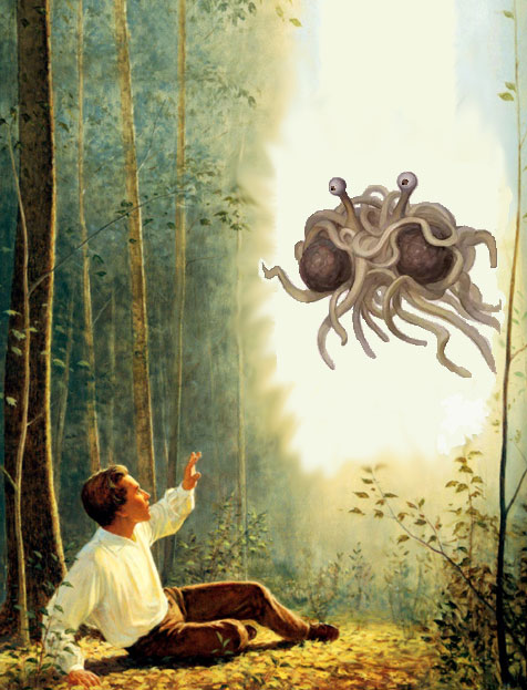 Flying Spaghetti Monster Visits Joseph Smith