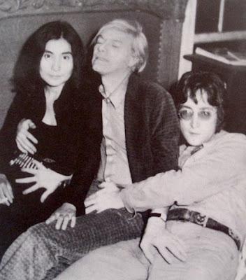 PUTOS del Rock Andy+warhol+John+Lennon+yoko+ono,+1971