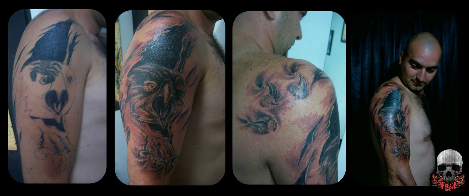 Tattoo Cover up Aguila