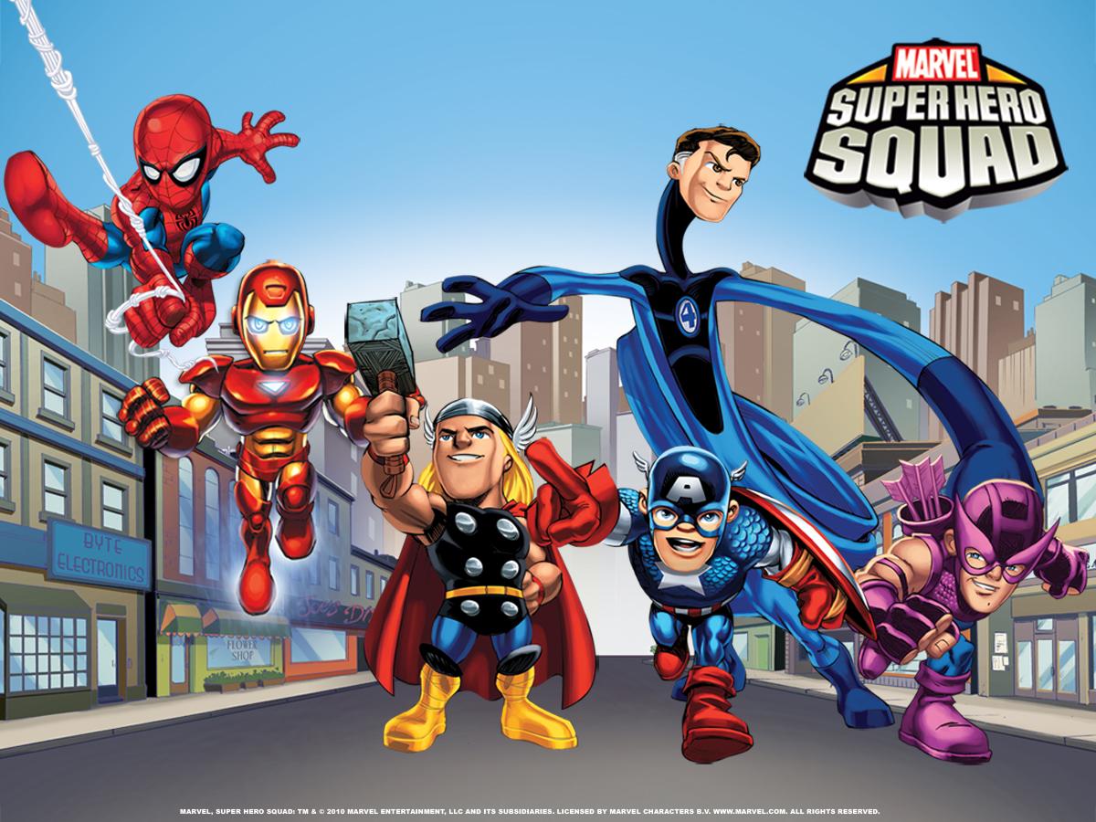 Marvel Super Hero Squad Arte 008  Apps Directories