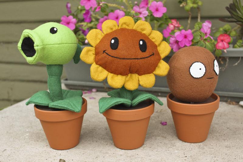Plants vs Zombies Plush Patterns