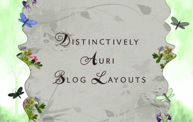 Distinctively Auri Blog Layouts