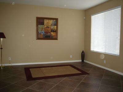 Empty Formal Living Room