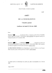 English translation of 2009 Geneva judgment now available