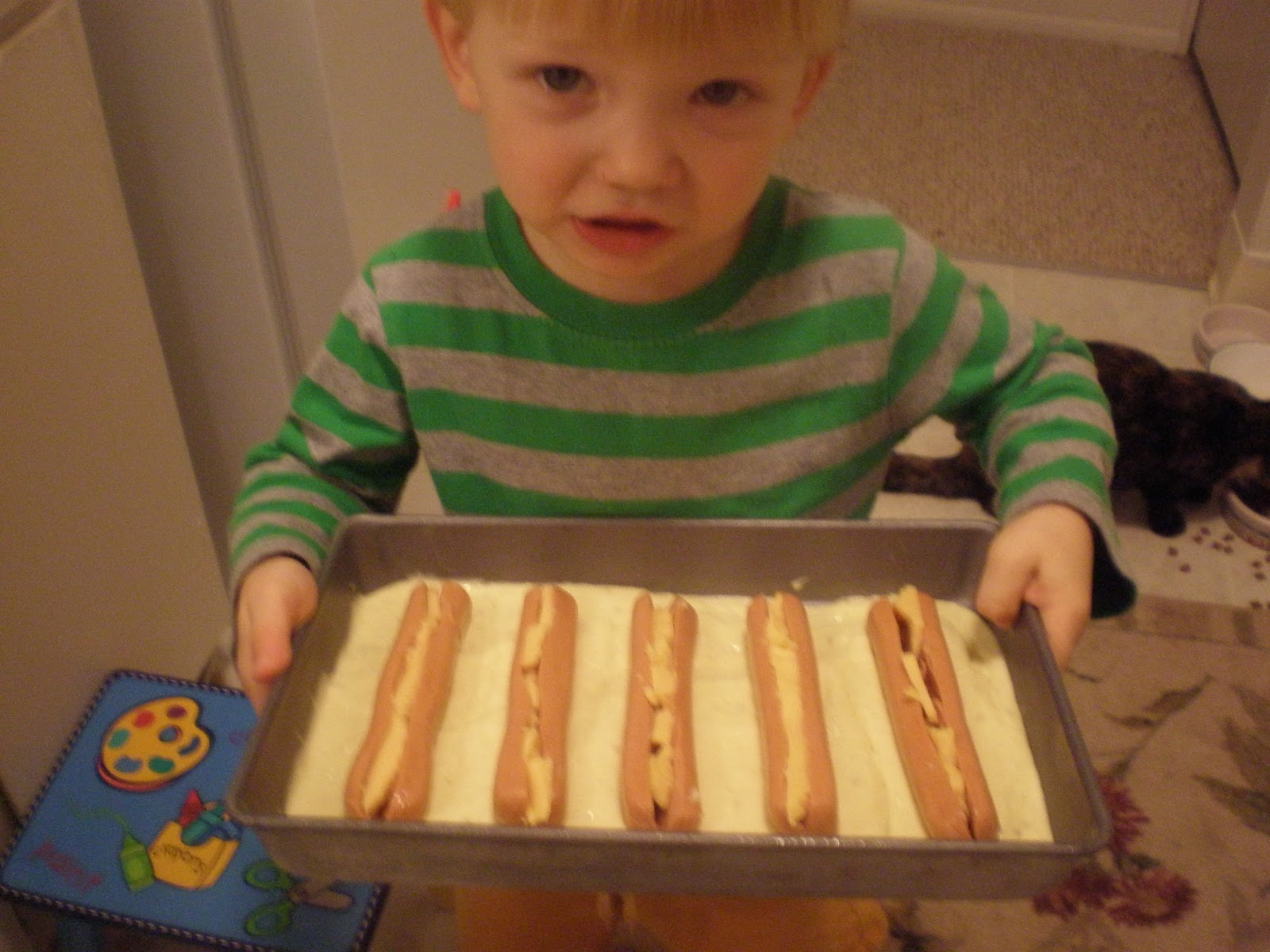 how to make hot dogs in a blanket
