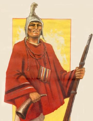 TUPAC KATARI  (1750 - 1781) / BOLIVIA