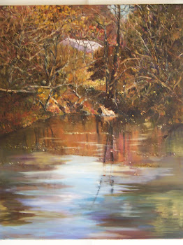 Somerset Autumn on Wea Creek