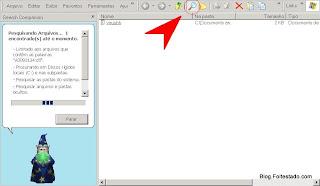 para buscas no computador procure a imagem de uma lupa na pasta ou menu exibir, barra do explorer, pesquisar