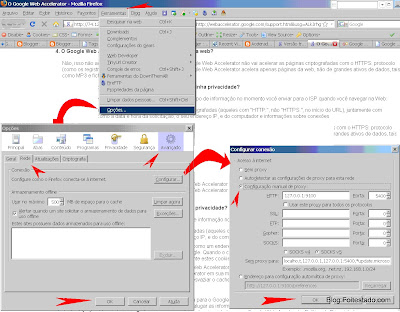 Configurar proxy no mozilla firefox