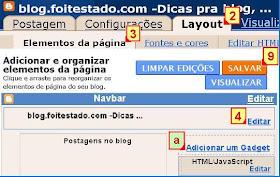 logotipo no blogger, para colocar um logo no blogspot