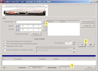 vulnerabilidade do pc ao Conficker