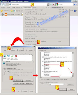 how to change security settings in internet explorer