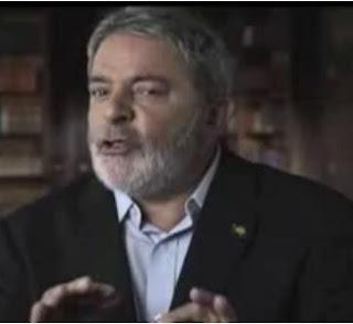 Presidente Lula nas eleições de 2010 do brasil