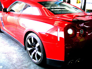 Nisan GTR - The Red One